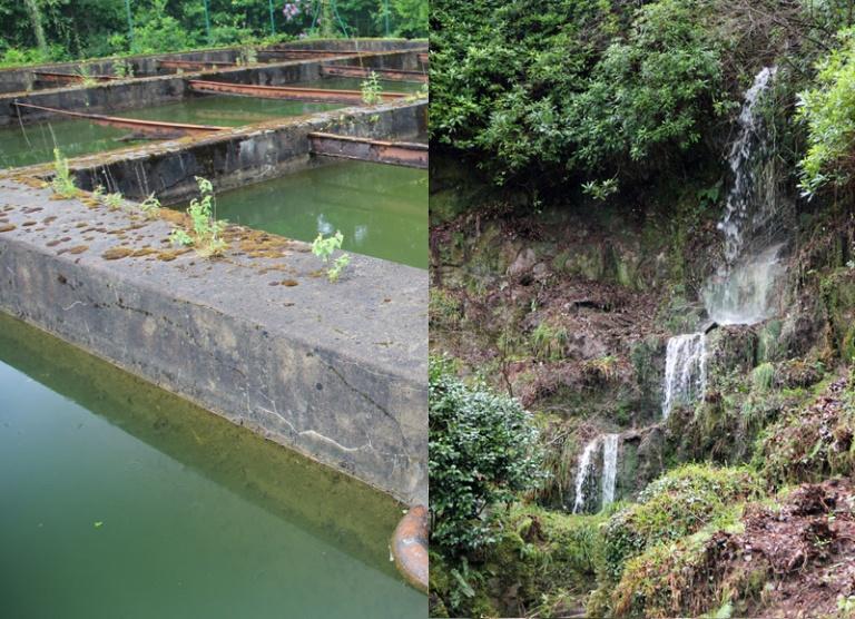 Réservoir d'eau du domaine de Trévarez